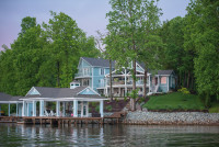 Behind The Scenes: At the Smith Mountain Lake Charity Home Tour