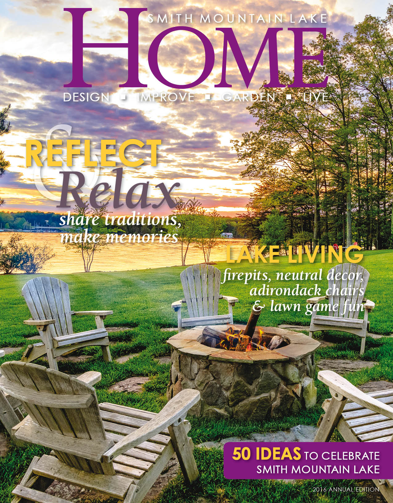 Smith Mountain Lake HOME 2016 Cover
